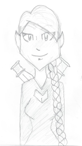 Elf drawing by Miriah's daughter