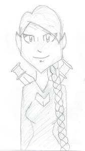 Elf drawing by Miriah's daughter