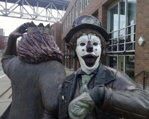 J.P. Patches statue