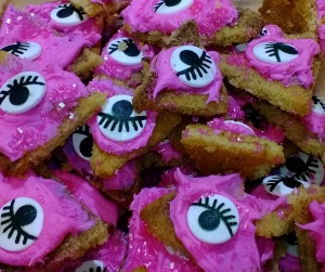 cookies with eyes