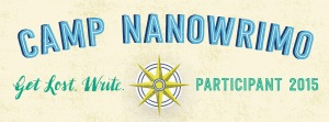 Camp NaNoWriMo Badge 2015